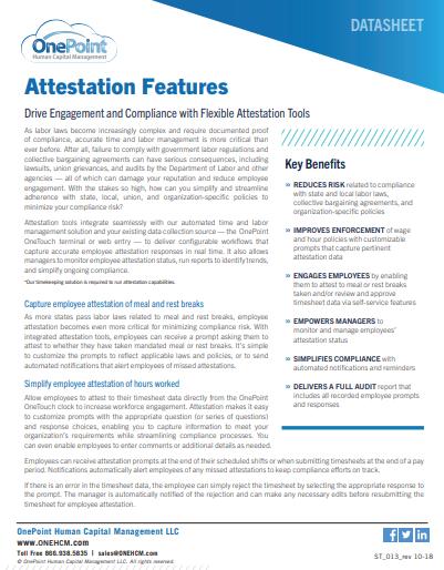 Attestation Datasheet Cover Image