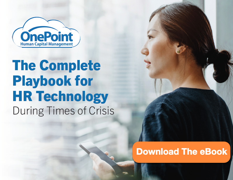 OnePoint Crisis Management and HCM Technology eBook Thumbnail