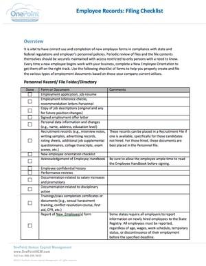 Employee_Records_Filing_Checklist_Thumbnail