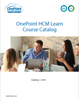 OnePoint HCM LEARN LMS Course Catalog_Thumbnail